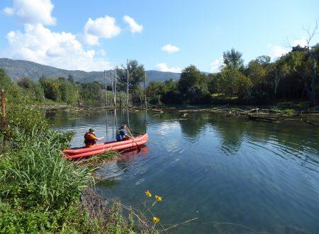 In canoa sul Lago di Favale?
