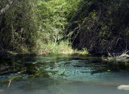 Il lago di Favale dal punto di vista dell'Aniene